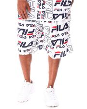 Fila - Remy All Over Print Fleece Shorts (B&T)-2638137