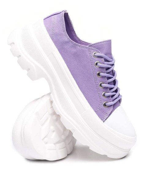 Fashion Lab - Platform Low Sneakers