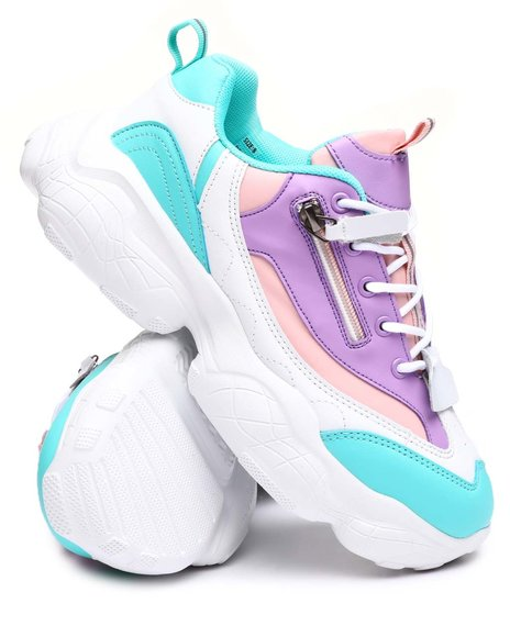 Fashion Lab - Colorblock Chunky Sneakers