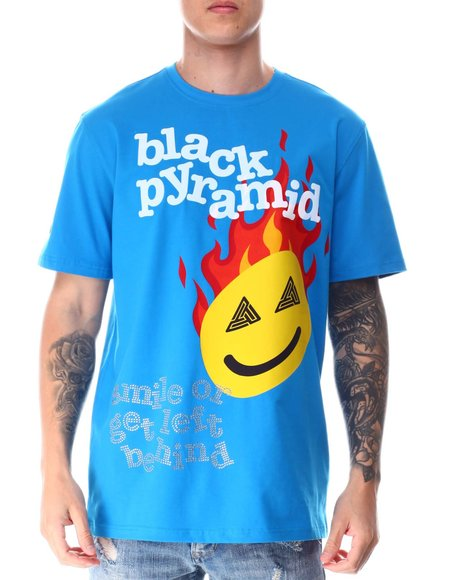Black Pyramid - SMILE OR GET LEFT BEHIND Shirt