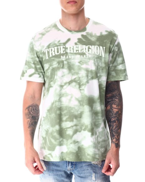True Religion - SS Tie Dye Arch Logo