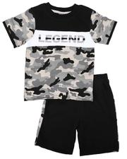 Sets - 2 Pc Camo Print Tee & Shorts Set (Infant)-2636593