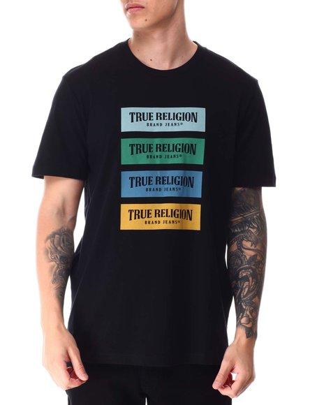 True Religion - SS BOX BRANDED TEE