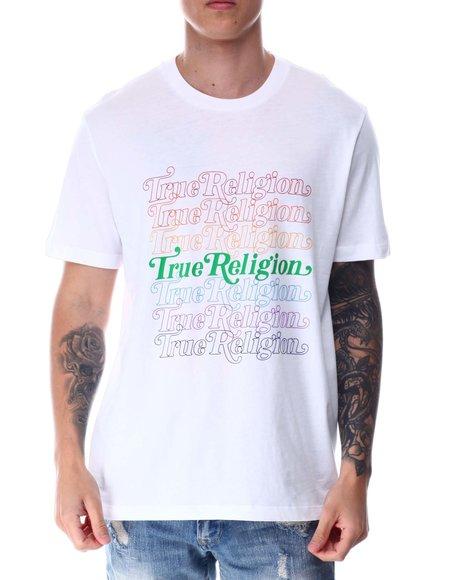 True Religion - SS TRUE RELIGION REPEAT LOGO TEE