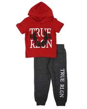 Sets - 2 Pc Hooded T-Shirt & Jogger Pants Set (2T-4T)-2637824