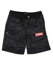 Boys - King Streak Print Fleece Shorts (4-7)-2638598