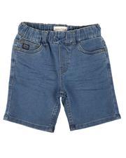Boys - Pull On Denim Shorts (4-7)-2638744