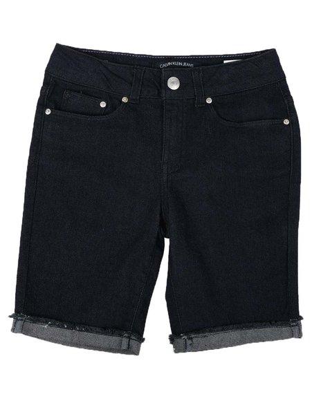 Calvin Klein - Cut Off Bermuda Shorts (7-14)