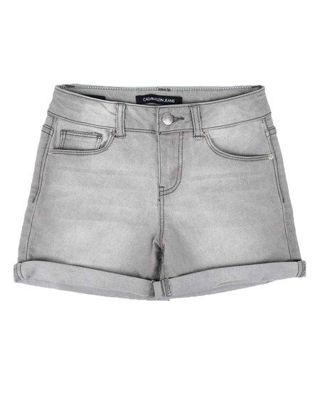 Calvin Klein - Cuff Denim Shorts (7-14)