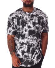Big & Tall - Tie Dye Crew Neck T-Shirt (B&T)-2640520