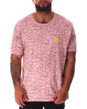 Brooklyn Cloth - Hype Crackle Pattern T-Shirt (B&T)-2640536