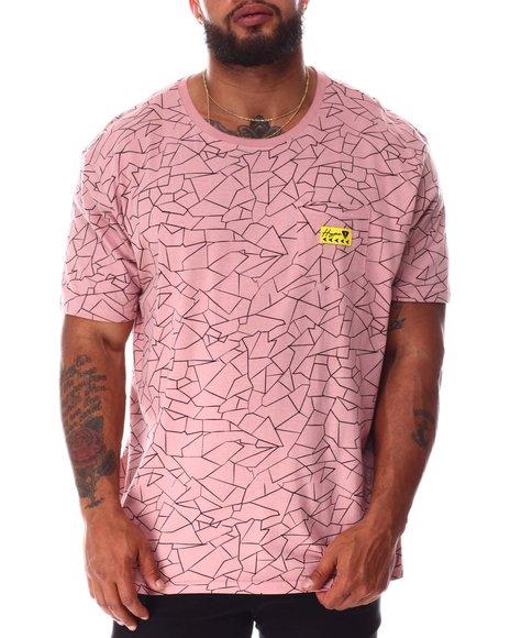 Brooklyn Cloth - Hype Crackle Pattern T-Shirt (B&T)