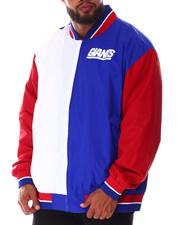 Mitchell & Ness - Giants Nylon Warm Up Jacket (B&T)-2640569