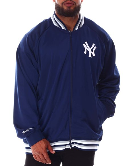 Mitchell & Ness - Yankees Tricot Track Jacket (B&T)