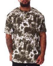 Big & Tall - Tie Dye Crew Neck T-Shirt (B&T)-2640780