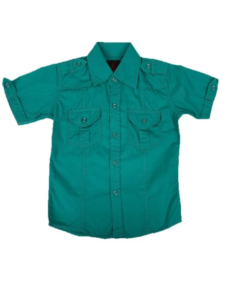 Arcade Styles - Button Down Shirt (2-8)
