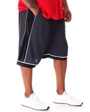 Big & Tall - Dazzle Side Pieced Mesh Shorts (B&T)-2640403