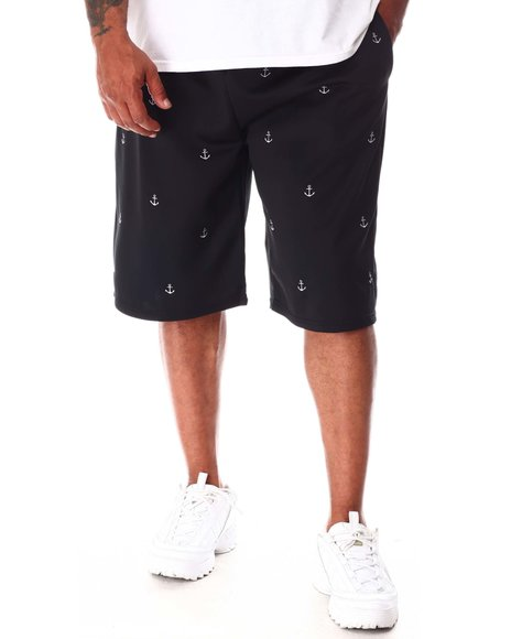 Buyers Picks - Anchor Embroidered Knit Scuba Shorts (B&T)
