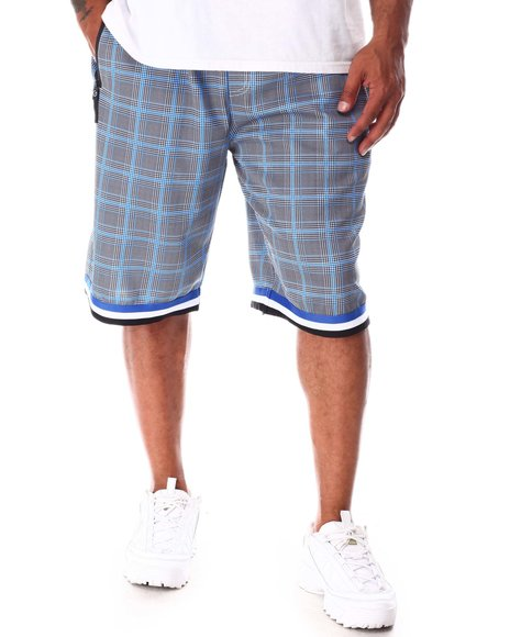 Buyers Picks - Plaid Printed Scuba Shorts (B&T)