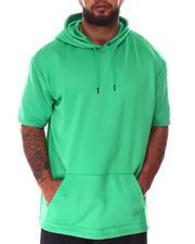 Big & Tall - Hooded Scuba Short Sleeve Shirt (B&T)-2640582
