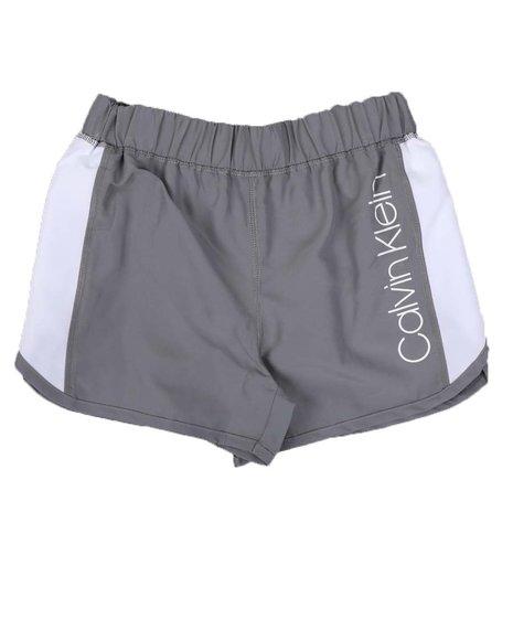 Calvin Klein - Color Block Tulip Sport Shorts (7-14)