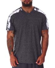 Big & Tall - Tap My Sleeve V-Neck T-Shirt (B&T)-2640345
