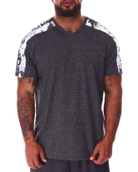 Ecko - Tap My Sleeve V-Neck T-Shirt (B&T)