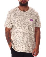 Brooklyn Cloth - Hype Crackle Pattern T-Shirt (B&T)-2640528