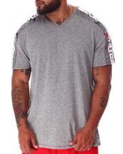 Big & Tall - Tap My Sleeve V-Neck T-Shirt (B&T)-2640393
