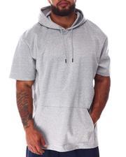 Big & Tall - Hooded Scuba Short Sleeve Shirt (B&T)-2640561