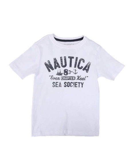 Nautica - Sea Society Graphic T-Shirt (4-7)