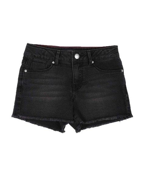 Calvin Klein - Boyfriend Cut Off Denim Shorts (7-14)