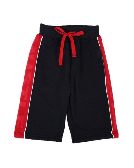 Arcade Styles - Embossed Hustle Fleece Shorts (8-20)