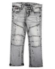Boys - Cut & Sew Stretch Jeans (4-7)-2639134