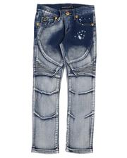 Arcade Styles - Skinny Fit Stretch Moto Jeans (8-18)-2639172