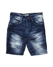 Sizes 2T-4T - Toddler - Cargo Flap Denim Shorts (2T-4T)-2639523