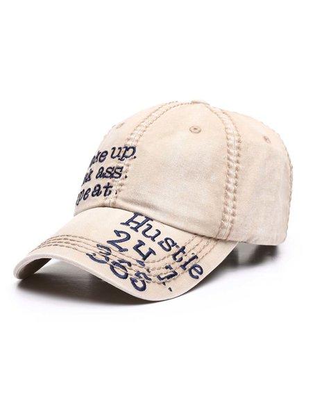 Buyers Picks - Wake Up Kick Ass Repeat Dad Hat