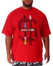 Big & Tall - Hustle Money T-Shirt (B&T)-2637224