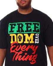 Big & Tall - Freedom Over Everything T-Shirt (B&T)-2637862