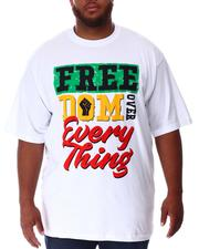 Big & Tall - Freedom Over Everything T-Shirt (B&T)-2637871
