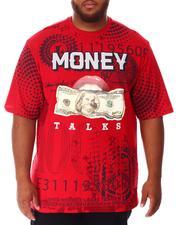 Big & Tall - Money Talks T-Shirt (B&T)-2639902