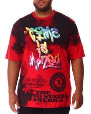 Big & Tall - Time Is Money T-Shirt (B&T)-2639914