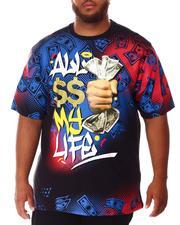 Big & Tall - All $$ My Life T-Shirt (B&T)-2639809