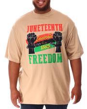 Big & Tall - Juneteenth Freedom T-Shirt (B&T)-2637858
