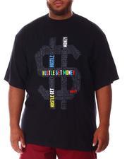 Big & Tall - Hustle Money T-Shirt (B&T)-2637208