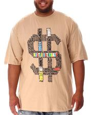Big & Tall - Hustle Money T-Shirt (B&T)-2637212