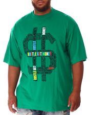 Big & Tall - Hustle Money T-Shirt (B&T)-2637216