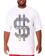 Big & Tall - Hustle Money T-Shirt (B&T)-2637220