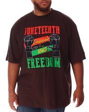 Big & Tall - Juneteenth Freedom T-Shirt (B&T)-2637232
