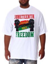 Big & Tall - Juneteenth Freedom T-Shirt (B&T)-2637236